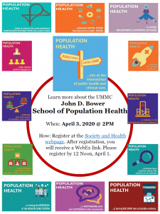 Flyer for Bower School for Population Health